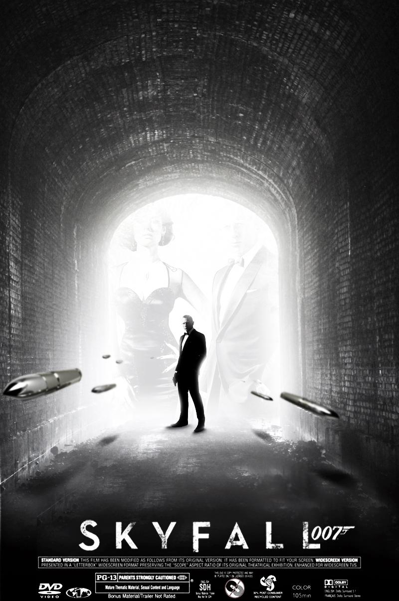 skyfall 007 posteromarahmeddesginer on deviantart