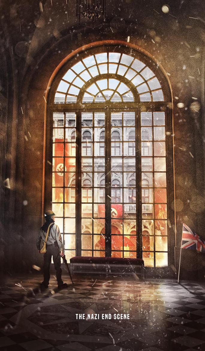 The Nazi's End Scene by OMARAHMEDDESGINER