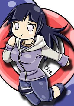 Hinata Chibi Colored