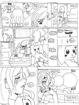 Blue Christmas Comic