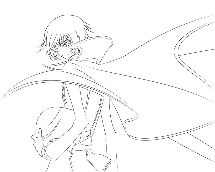 Q Line Art : Coloring shoujo anime pages