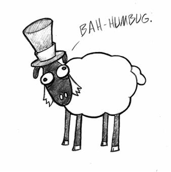 Scroog Sheep by blueexe