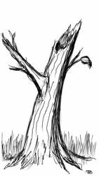 sketch tree by blueexe
