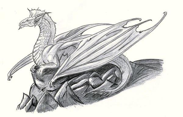 Silver Dragon by AshasCadence