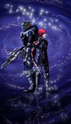 There is no Shepard without Vakarian by AshasCadence