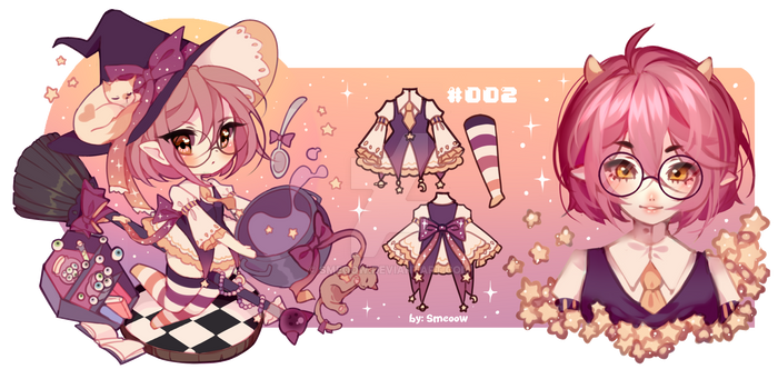 Adoptable closed - Star witch