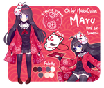 (Commission) info Maru chan