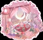 ($) Tea  party