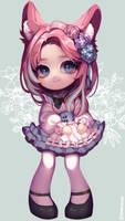 ($) Bunny maid girl