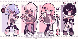(CLOSED) Yandere Adoptables Pack