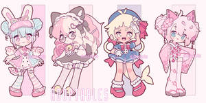 (ADOPTABLE CLOSED!) - lollita chibis 2