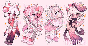 Cute pink pack - Adoptables closed
