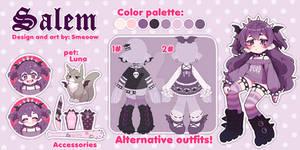 ($) Salem - ref sheet