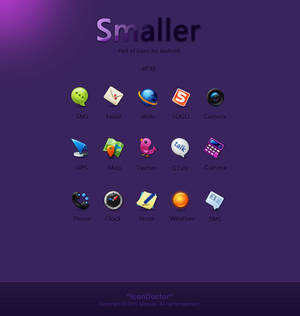 Smaller------icons for Android