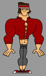 Total Drama Muscled Tyler - Standard Clothes by Apollotalon