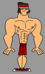 Total Drama Muscled Tyler - Athletic Clothes by Apollotalon