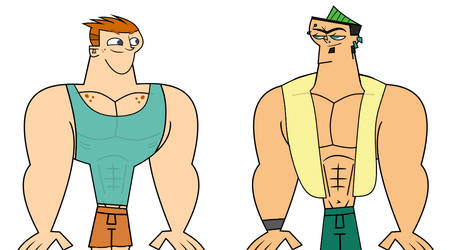 Scott and Duncan, the Powerhouse Boys by Apollotalon