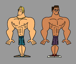 Surfer Dudes Turned Bodybuilders by Apollotalon