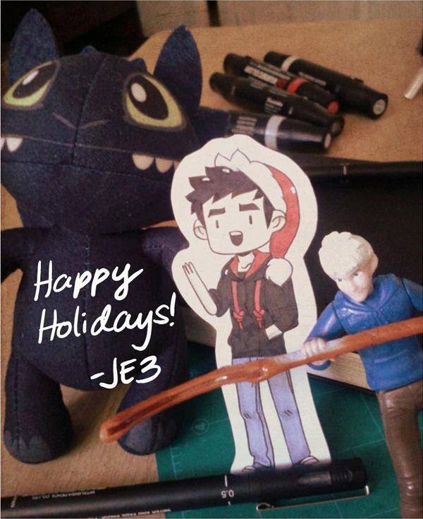 Seasons Greetings by JE3