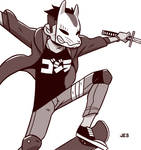 Fox Mask Man returns