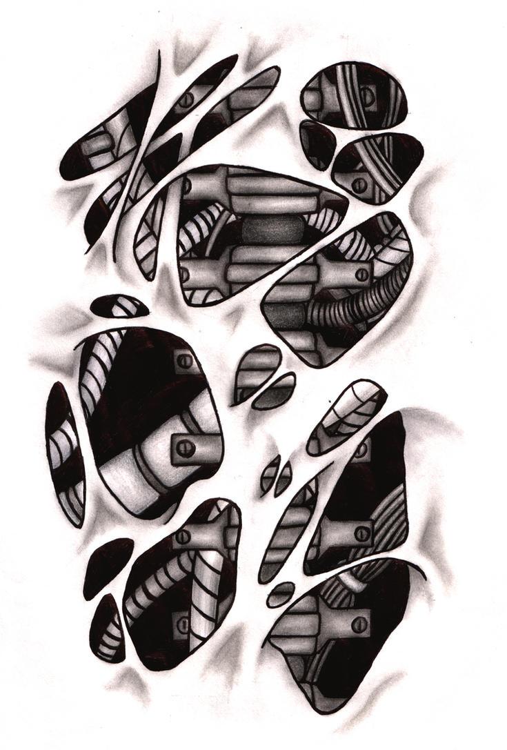 biomechanical spine drawings - photo #32