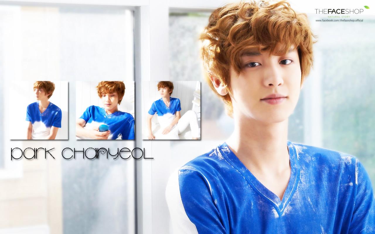 Chanyeol 2014 Wallpaper Chanyeol Faceshop Wallpaper by