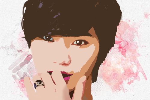Sungjong Vector Popart by KpopGurl