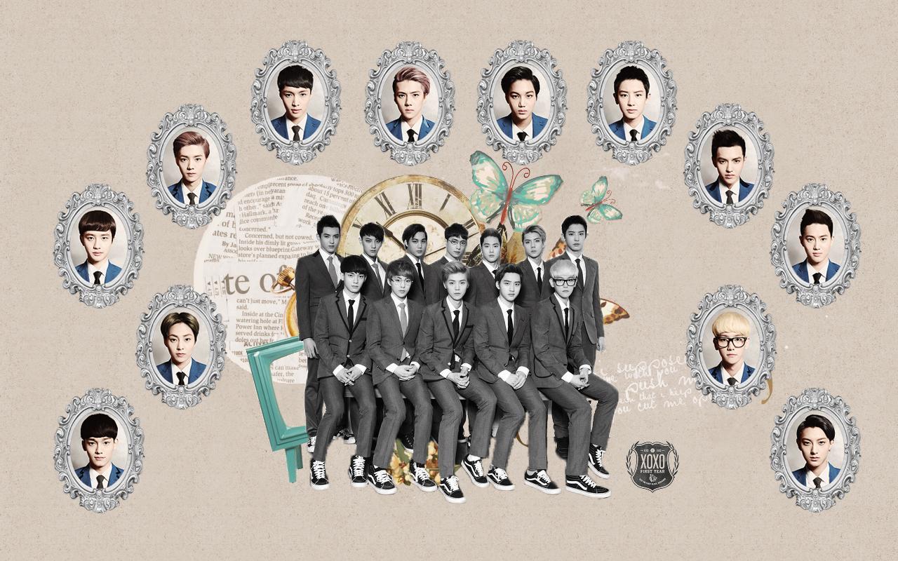 exo xoxo symbol wallpaper
