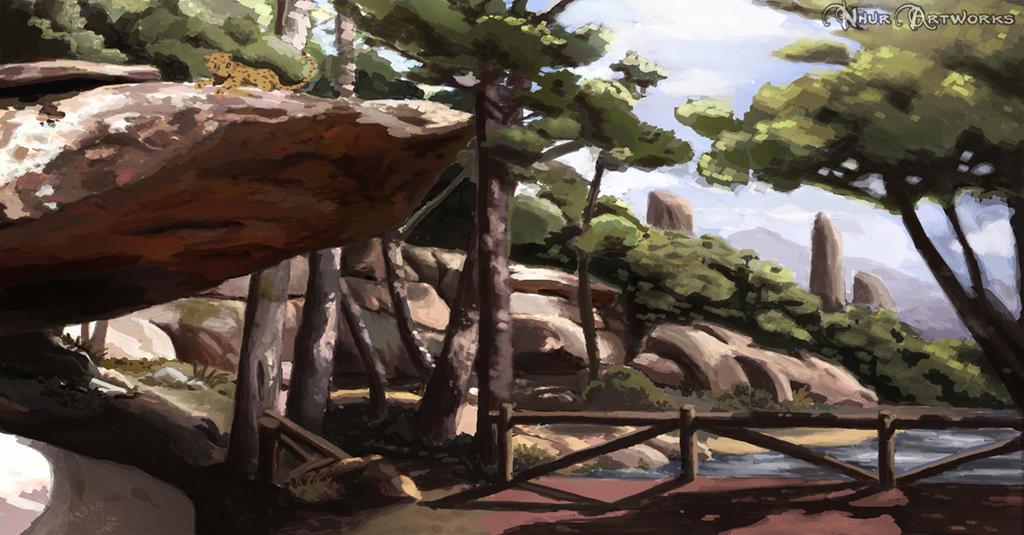 Landscape Concept by Nhur