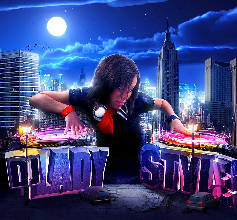 Dj Lady Style by phoks2
