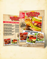 BURGER QUEEN BUSINESS CARD by phoks2