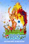 Samba Rio graphic flyer