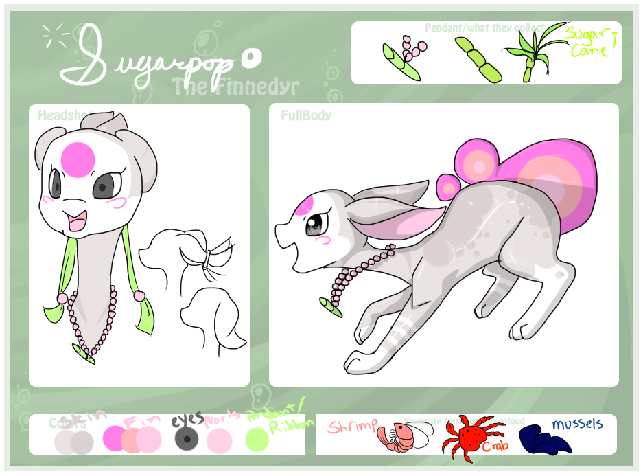 Sugarpop the Finnedyr! by FayneFirestar