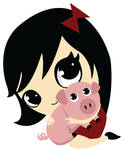 Piggy and Girl