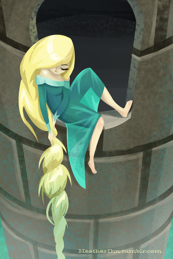 Rapunzel by HeatherIhn