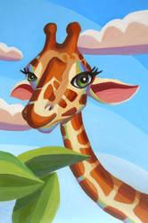 Giraffe by HeatherIhn