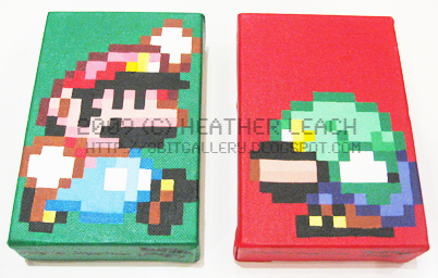 Super Mario World - M+L Set by 8bitgallery on DeviantArt