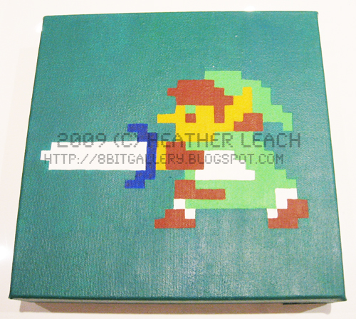 The Legend of Zelda - Link by 8bitgallery