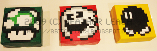 Super Mario World Set by 8bitgallery