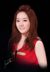 SNSD Taeyeon by x0imaginazn0x