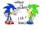 Sonic meets a recolor