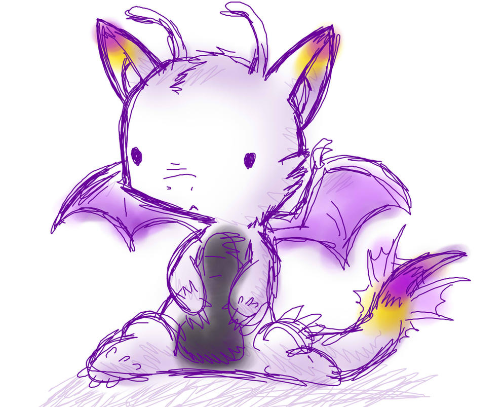 It's just a photo of Sly Chibi Dragon Drawing