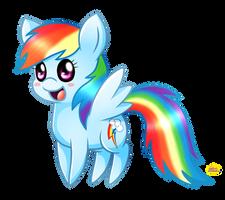 Chibi RainbowDash by Spice5400