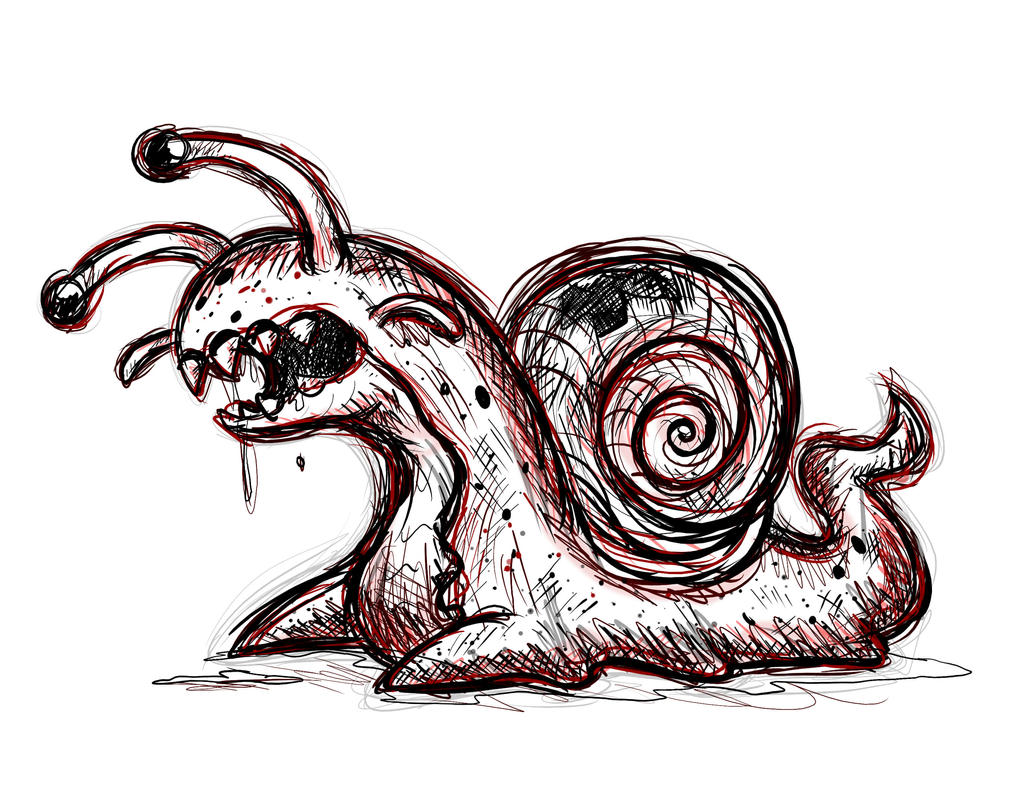 Creepy Snail By Spice5400 On DeviantArt