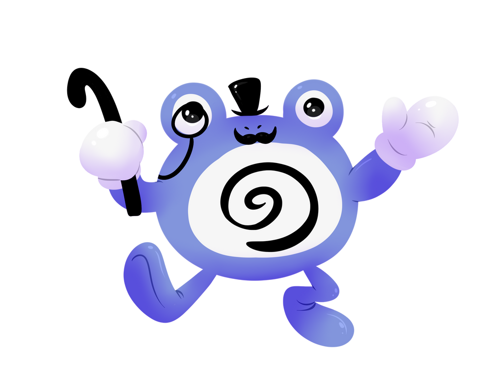Gentleman Poliwhirl by Spice5400