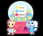 Gacha custom anthro adopts [OPEN] by Sugar-draw
