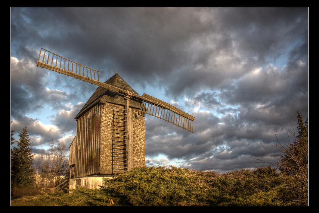 The Windmill HDR by DasHorst