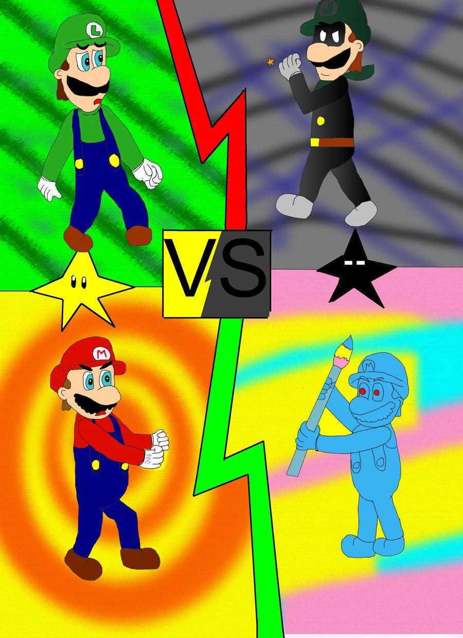 Amigurumi Mario Y Luigi : Luigi, mario VS mr.L and ... by ruseau on DeviantArt