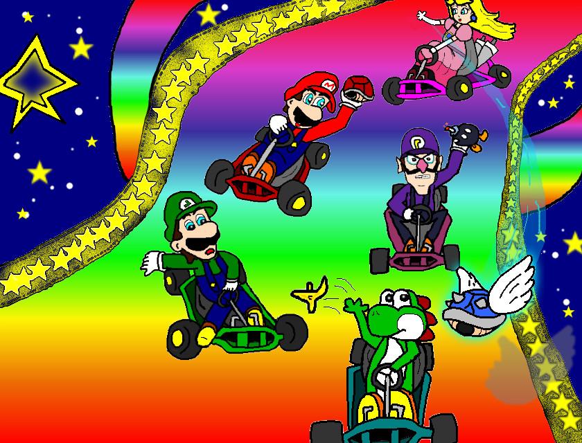 Mario Kart 64 By Ruseau On Deviantart