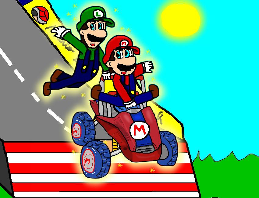 Mario Kart Double Dash By Ruseau On Deviantart